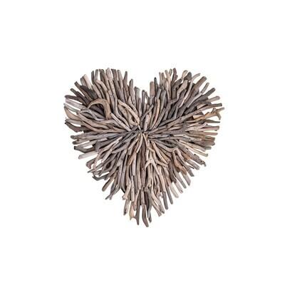 Driftwood Wall Heart
