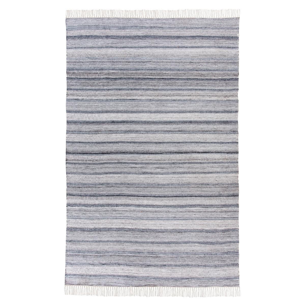 Indoor/Outdoor Grey Rug - 5x8