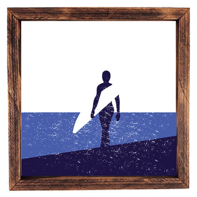 Surf Walk- Navy/Denim