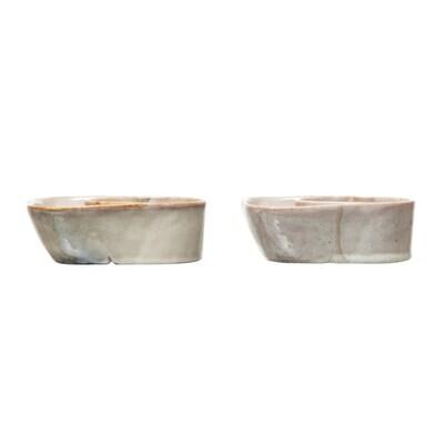 Stoneware Cracker Bowls