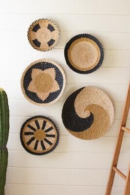 Round Seagrass Platters