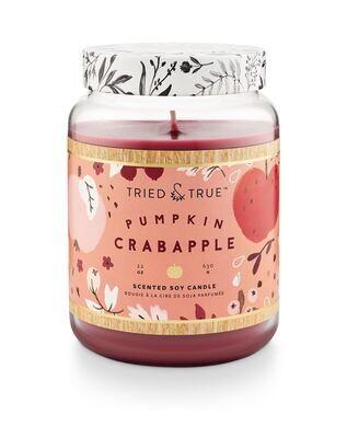 Pumpkin Crabapple XL Jar Candle