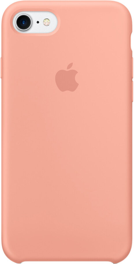 Apple Silicon Case для iPhone 7/8 (розовый фламинго)