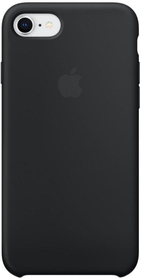Apple Silicone Case для iPhone 7/8 (черный)