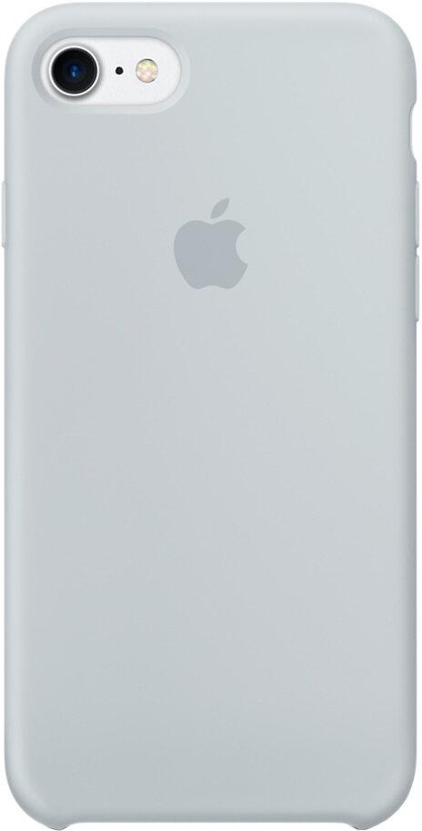 Apple Silicon Case для iPhone 7/8 (дымчато-голубой)