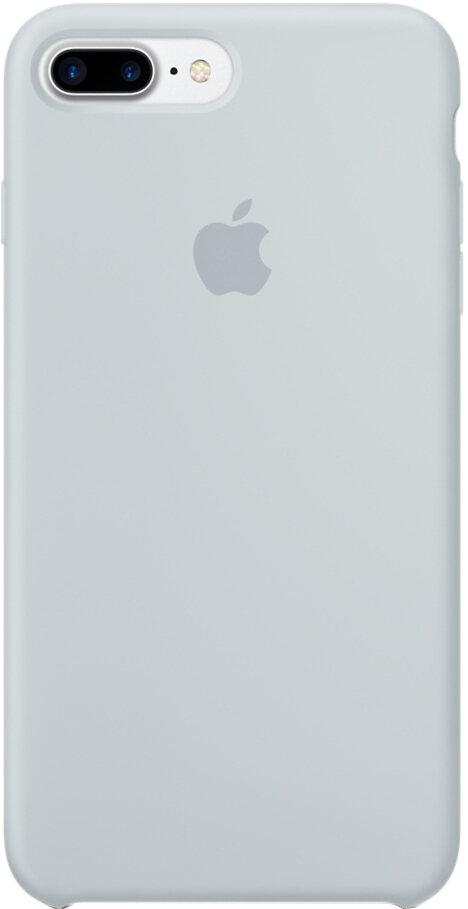 Apple Silicon Case для iPhone 7 Plus/8 Plus (дымчато-голубой)