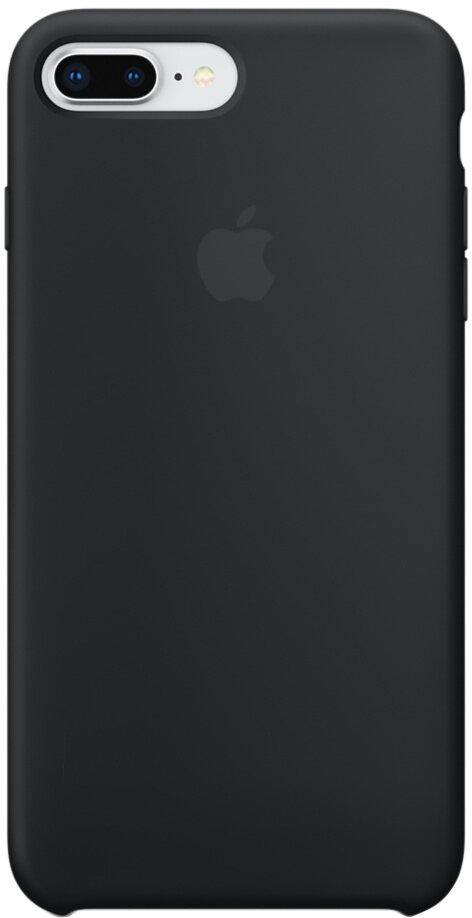 Apple Silicone Case для iPhone 8 Plus/7 Plus (черный)