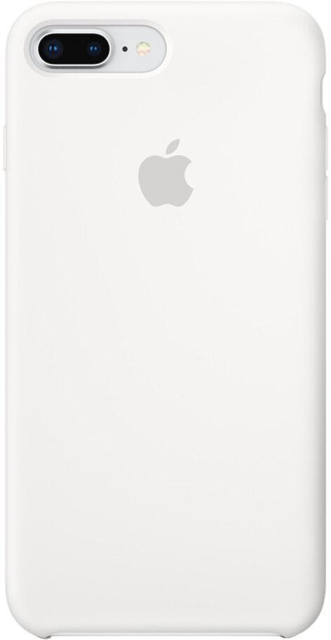 Apple Silicone Case для iPhone 8 Plus/7 Plus (белый)