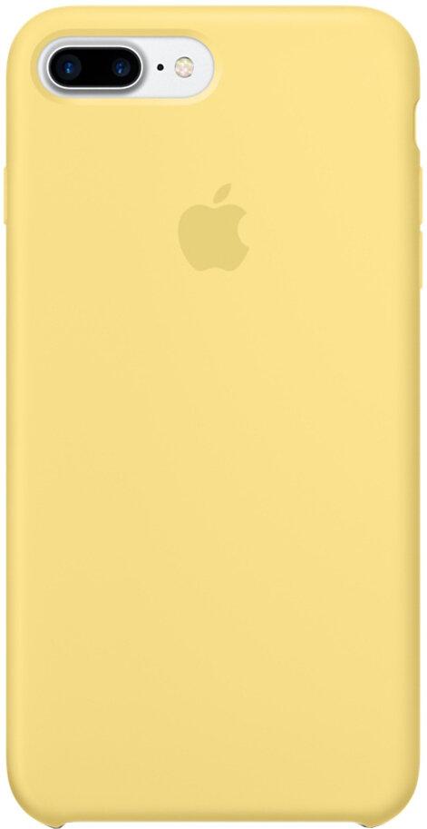 Apple Silicon Case для iPhone 7 Plus/8 Plus (желтая пыльца)