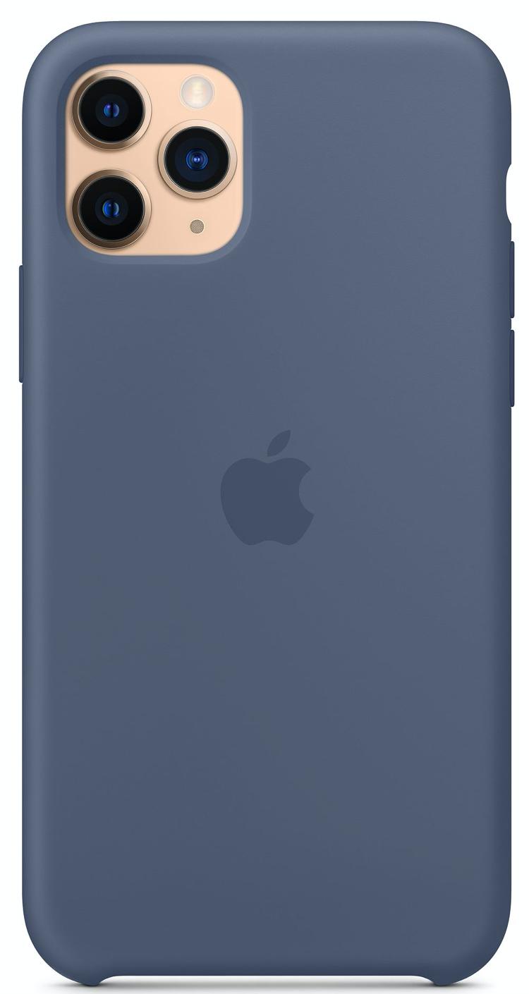 Силиконовый чехол для iPhone 11 Pro Max, цвет «морской лёд»