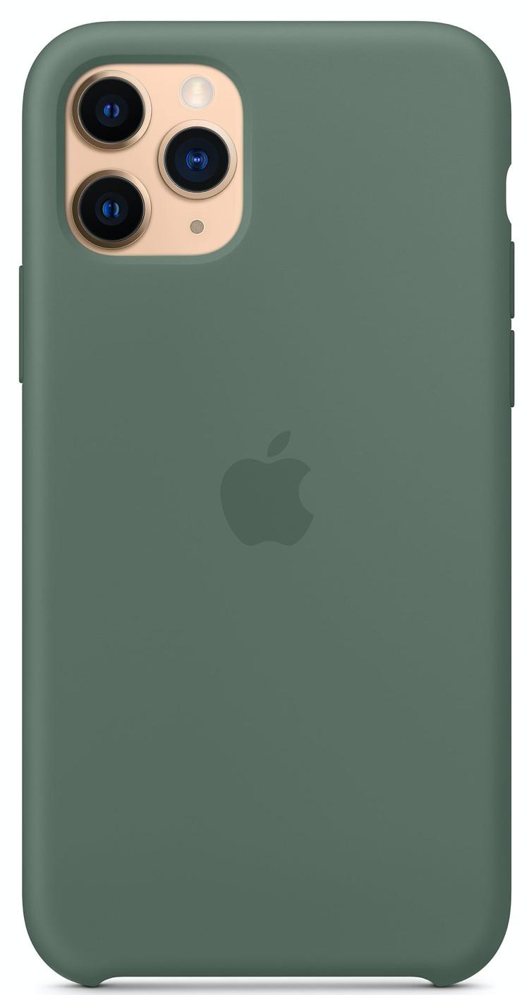 Силиконовый чехол для iPhone 11 Pro Max, цвет «сосновый лес»