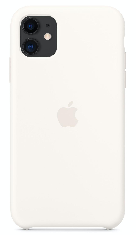 Силиконовый чехол для iPhone 11, цвет «мягкий белый»