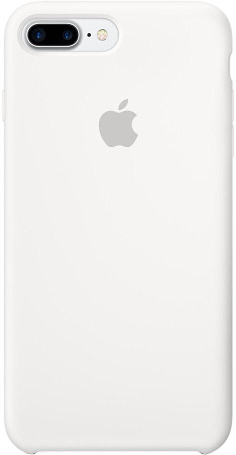 Apple для iPhone 7 Plus/8 Plus силиконовый (белый)