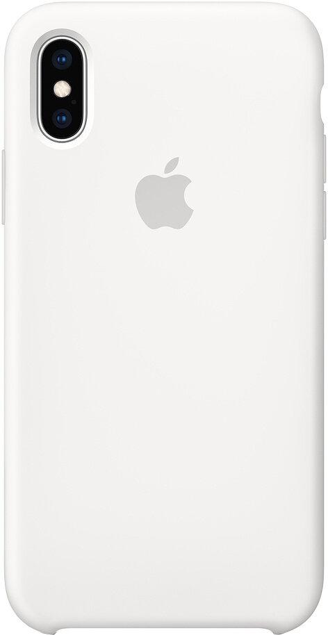 Силиконовый чехол для Apple iPhone XS Max White (белый)