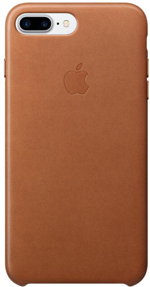 Apple для iPhone 7 Plus/8 Plus кожаный (золотисто-коричневый)