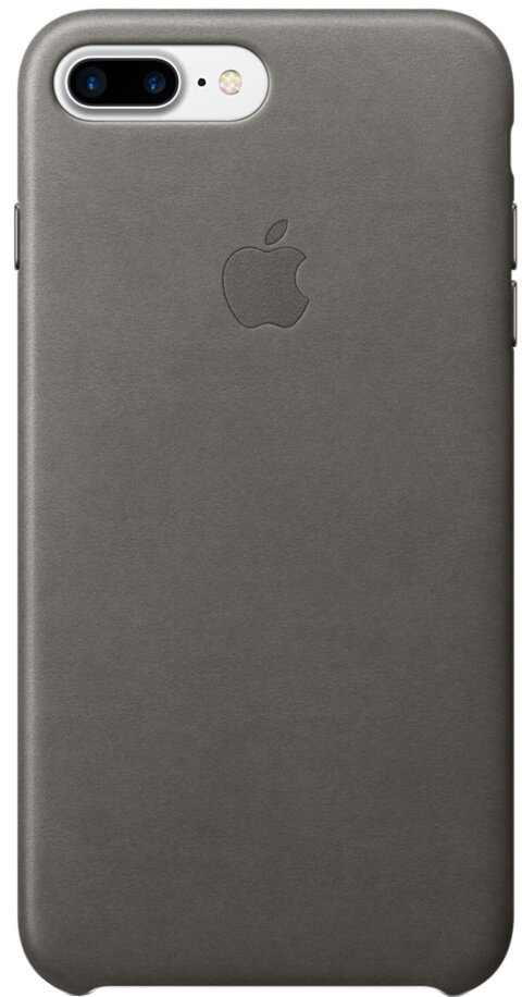 Apple для iPhone 7 Plus/8 Plus кожаный (грозовое небо)