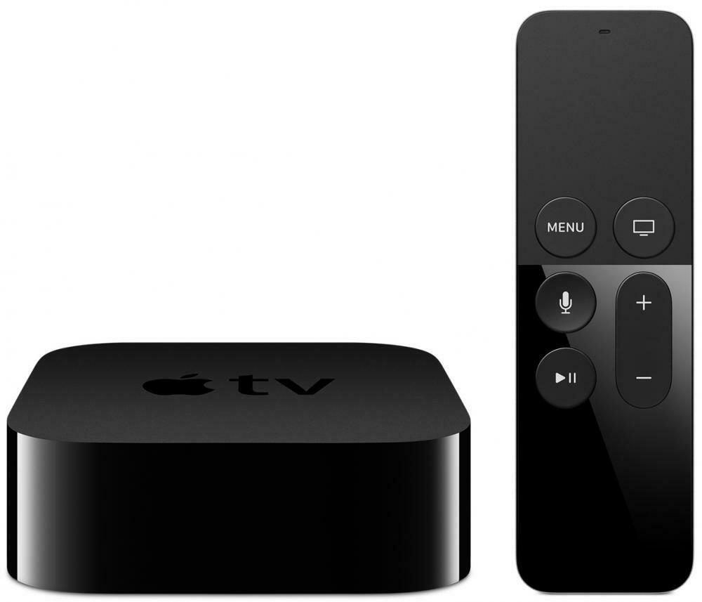 Apple TV 4K 32GB нового поколения (черный)