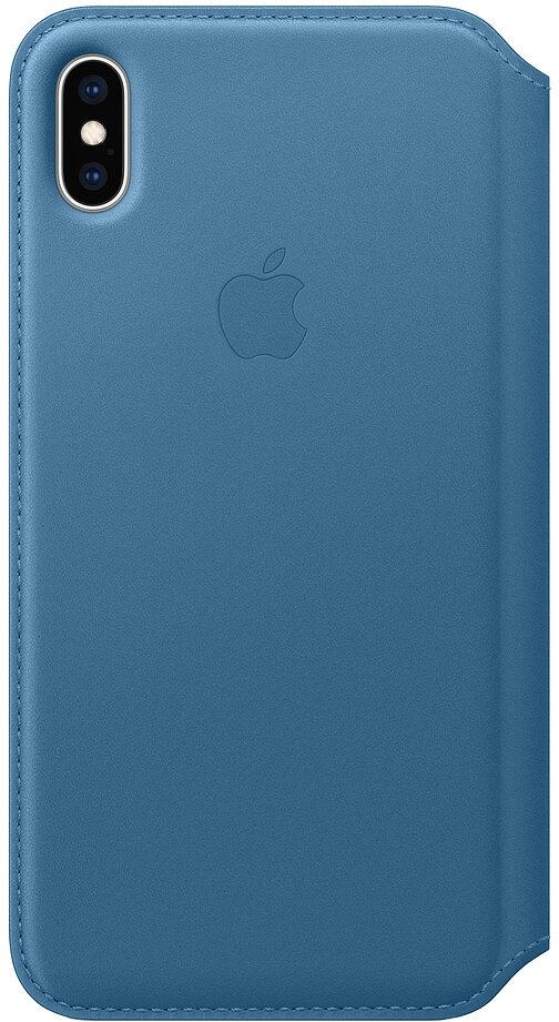 Apple Folio для iPhone XS Max (лазурная волна)