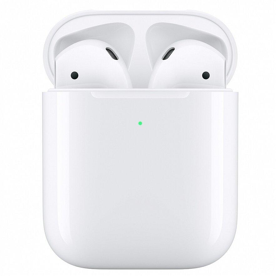 Наушники Apple AirPods 2 (с беспроводным зарядным футляром) MRXJ2RU/A