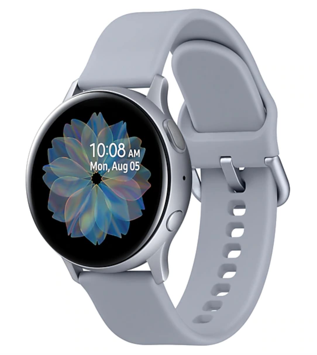 Часы Samsung Galaxy Watch Active2 алюминий 44 мм Cloud Silver (Арктика) RU/A
