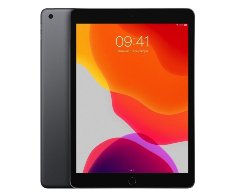 Планшет Apple iPad (2019) 32Gb Wi-Fi + Cellular Space Gray (серый космос) MW6A2RU/A РОСТЕСТ