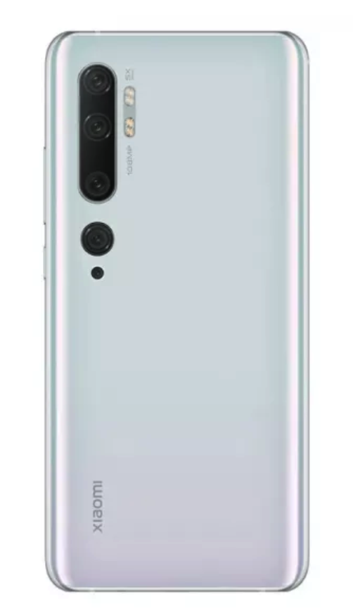 Смартфон Xiaomi Mi Note 10 6/128GB White (белый) Global version