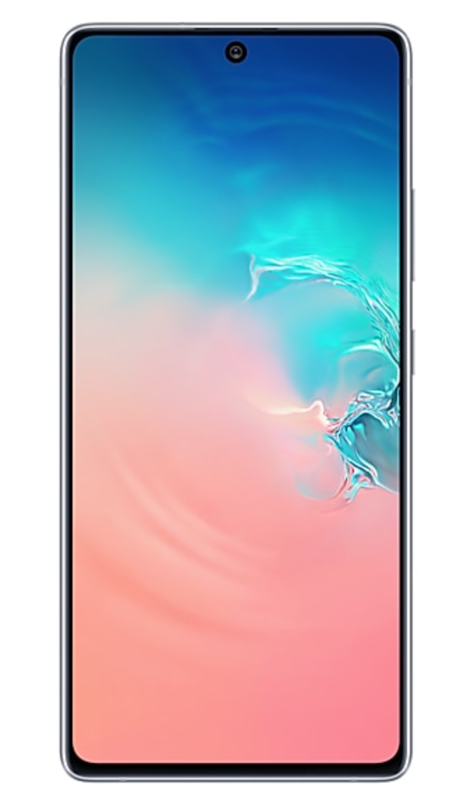Смартфон Samsung Galaxy S10 Lite 6/128Gb White (Перламутровый) RU/A