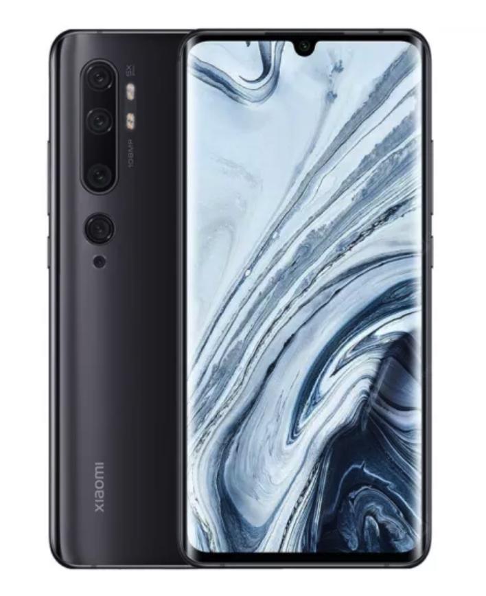 Смартфон Xiaomi Mi Note 10 Pro 8/256GB Black (черный) Global Version