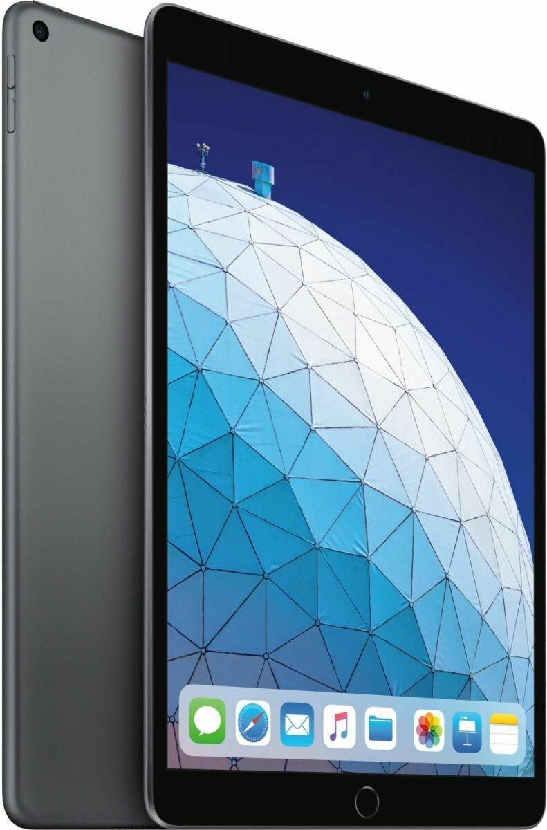 Планшет Apple iPad Air (2019) 64Gb Wi-Fi Space Gray (серый космос) MUUJ2RU/A РОСТЕСТ