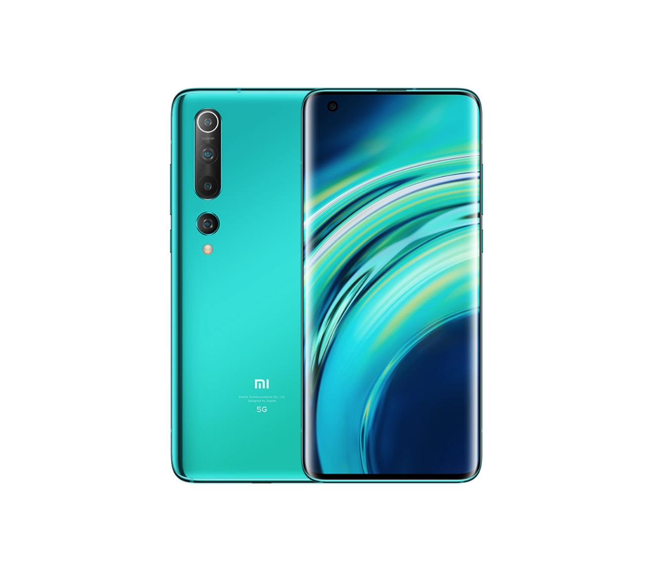 Смартфон Xiaomi Mi 10 8/256GB Green (зелёный)