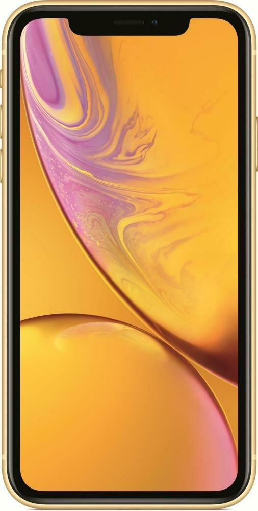 Смартфон Apple iPhone XR 64GB Yellow (желтый) MRY72RU/A РОСТЕСТ