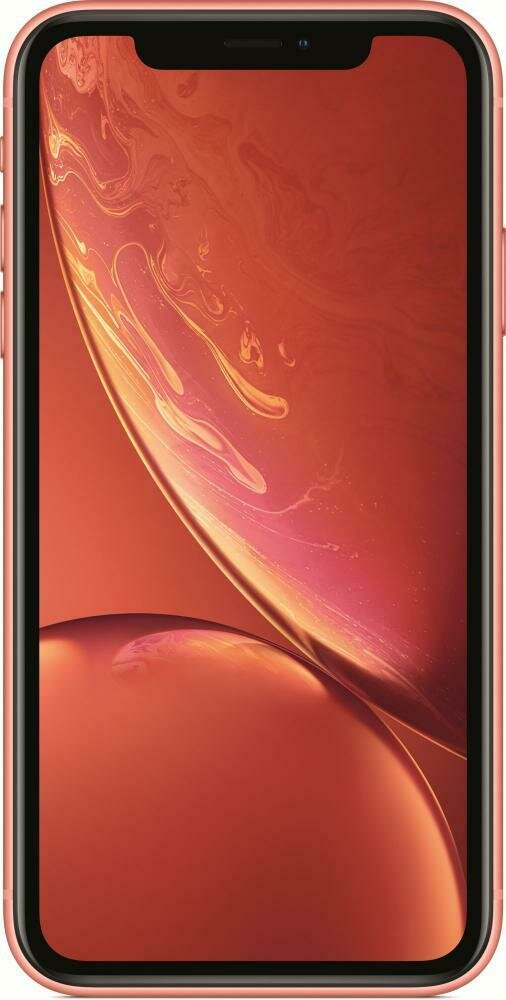Смартфон Apple iPhone XR 128GB Coral (коралл) MRYG2RU/A РОСТЕСТ