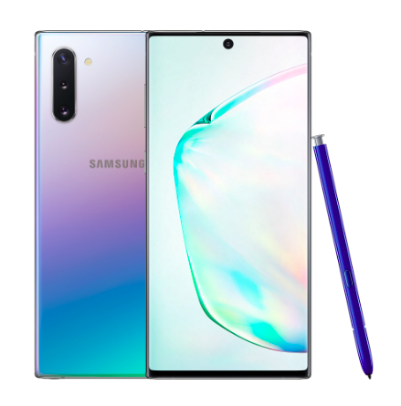 Смартфон Samsung Galaxy Note 10 8/256GB Aura Glow (Аура) RU/A