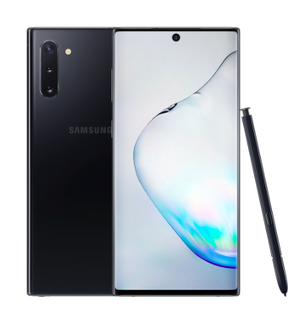 Смартфон Samsung Galaxy Note 10 8/256GB Black (чёрный) RU/A