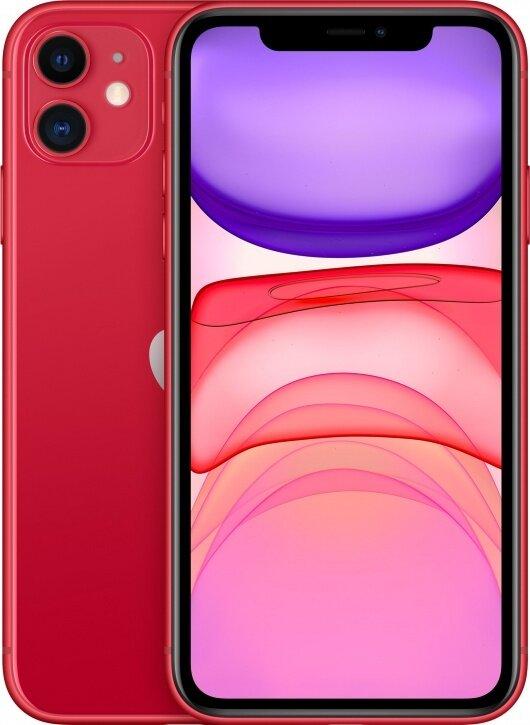Смартфон Apple iPhone 11 256Gb PRODUCT RED™ (красный) MWM92RU/A РОСТЕСТ