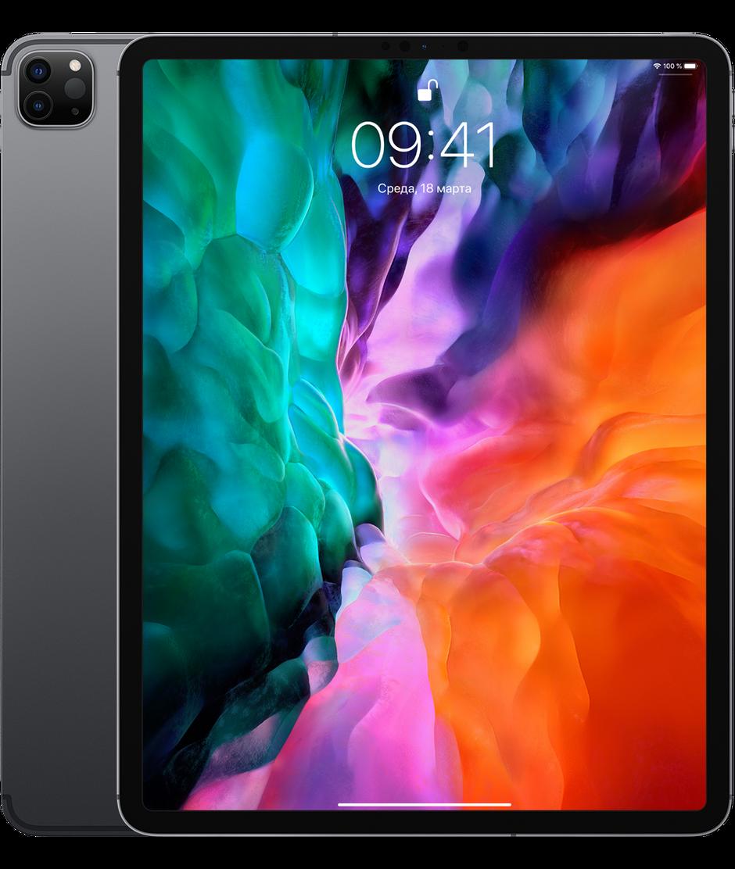 Планшет Apple iPad Pro 12.9 (2020) 128GB Wi-Fi Space Gray (серый космос)