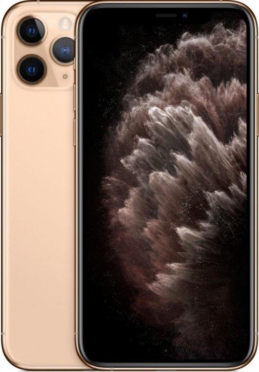 Смартфон Apple iPhone 11 Pro 256Gb Gold (золотой) MWC92RU/A РОСТЕСТ