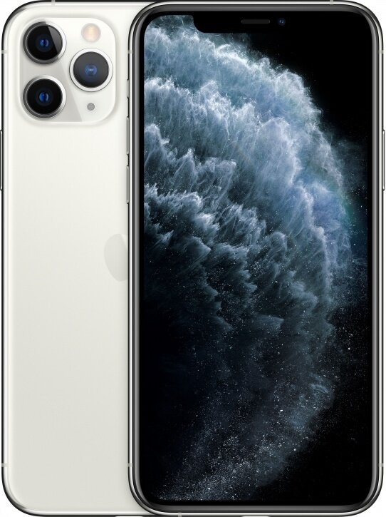 Смартфон Apple iPhone 11 Pro Max 256Gb Silver (серебристый)