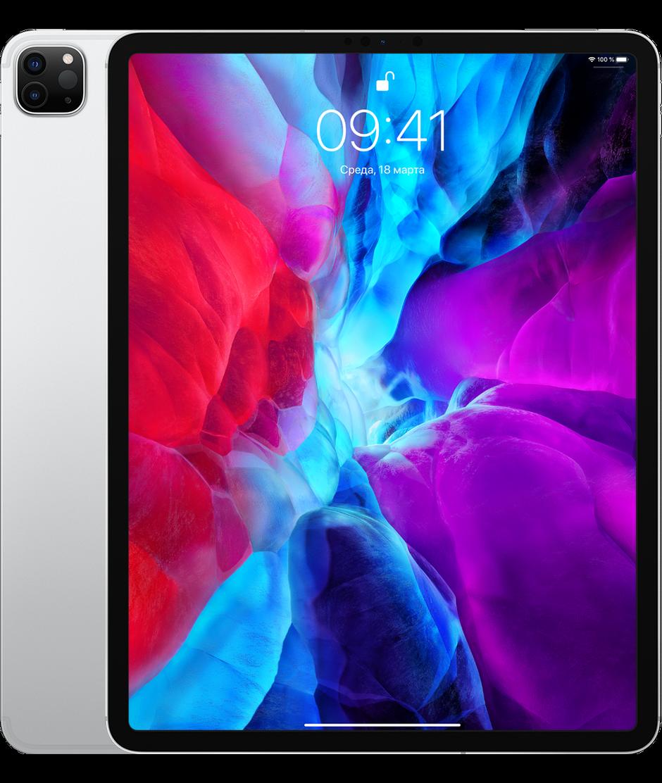 Планшет Apple iPad Pro 12.9 (2020) 256GB Wi-Fi + Cellular Silver (серебристый)