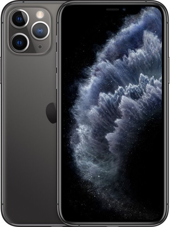 Смартфон Apple iPhone 11 Pro Max 512Gb Space Gray (серый космос) MWHN2RU/A РОСТЕСТ