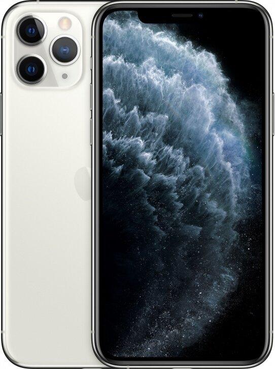 Смартфон Apple iPhone 11 Pro Max 512Gb Silver (серебристый) MWHP2RU/A РОСТЕСТ
