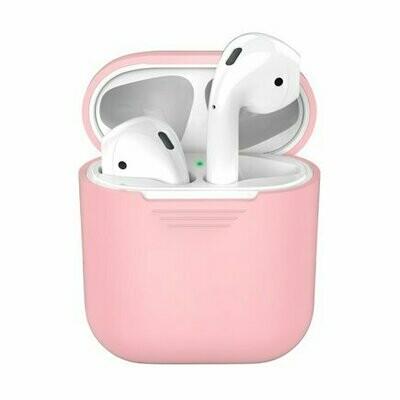 Силиконовый чехол Deppa для AirPods Pink (розовый)