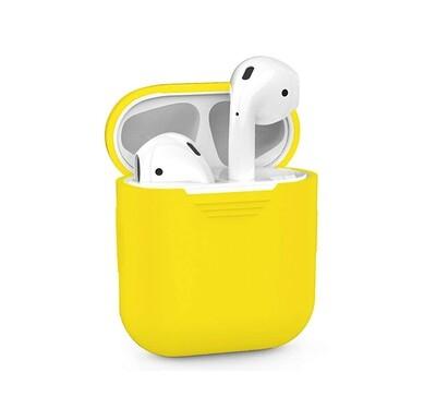 Силиконовый чехол Deppa для AirPods Yellow (жёлтый)