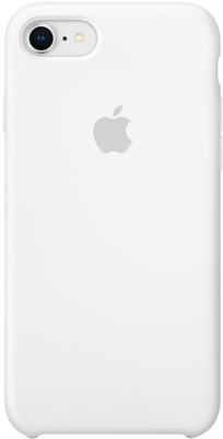 Apple Silicone Case для iPhone 7/8 (белый)