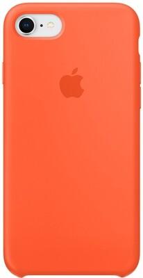 Apple Silicone Case для iPhone 7/8 (оранжевый шафран)