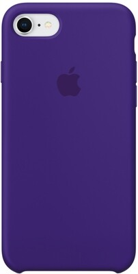 Apple Silicone Case для iPhone 7/8 (ультрафиолет)