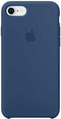 Apple Silicone Case для iPhone 7/8 (темный кобальт)