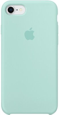 Apple Silicone Case для iPhone 8/7 (зелёная лагуна)