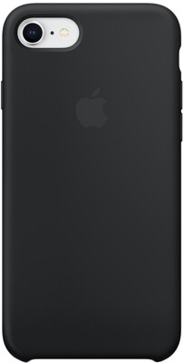 Apple Silicone Case для iPhone 7/8 (черный)