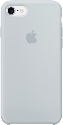 Apple Silicon Case для iPhone 7/8 (дымчато-голубой)